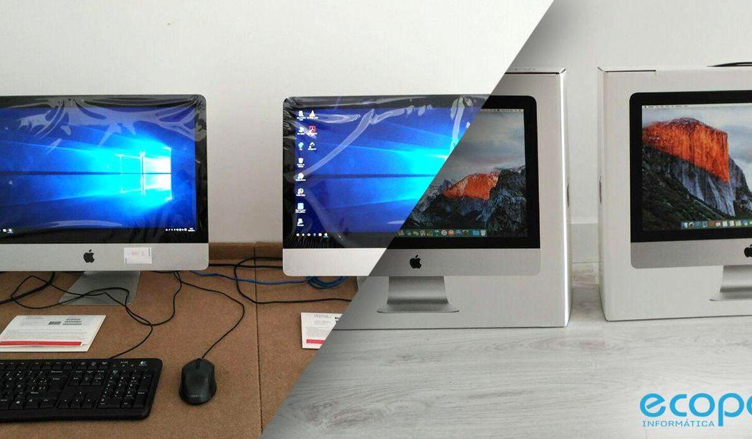 ¿Sabías que se puede instalar el sistema operativo Windows10 en un iMac?