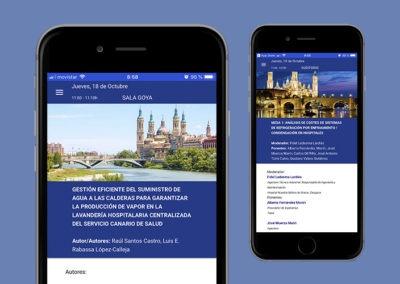 Aplicación para congresos AEIH