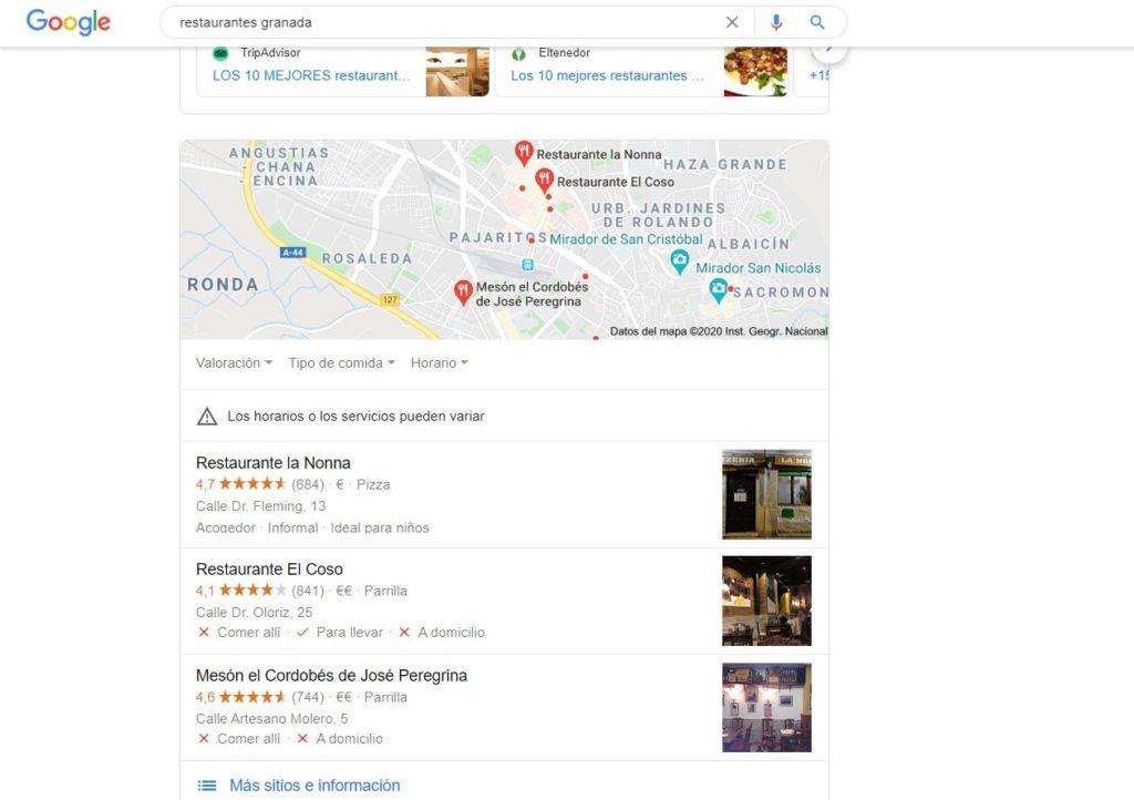 google-my-business-restaurantes