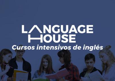 Landing Page de cursos intensivos de inglés